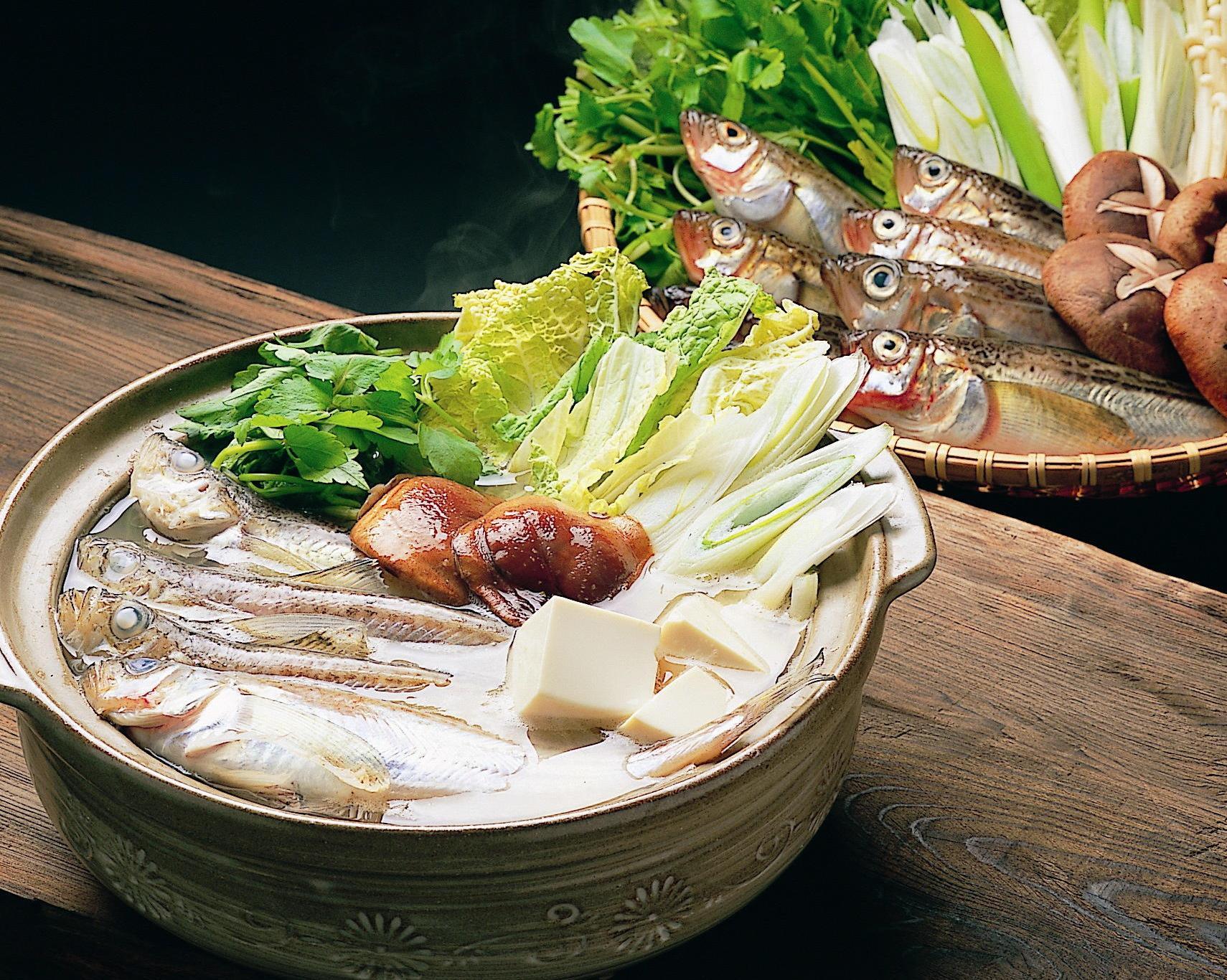 マルシェなレシピ本場のしょっつる鍋