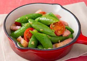 201954_snap_pea_and_bacon_with_garlic_saute
